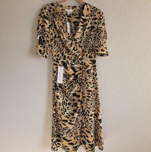 New Topshop Animal Print Dress